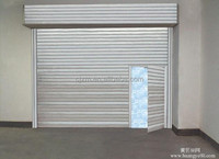 Modern Electric Galvanized Steel Rolling Door
