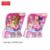 Zhorya mini purple golden butterfly wings fashion clothes accessories beautiful long hair toy fairy doll for girls