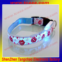 2014 hot sale led reflective dog collar,pet products for pet stores