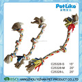 Wholesale pet products knot dog chew toy