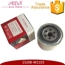 China OEM quality supplier auto oil filter prices fit for Y60/Y61/D21/D22 OEM:15208-W1103