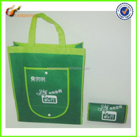(TWS7002) China suppliers high quality silk screen printing on non woven foldable shopping bag