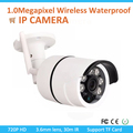 30M IR Wireless 1.0 Mega Pixel CMOS Waterproof IP camera