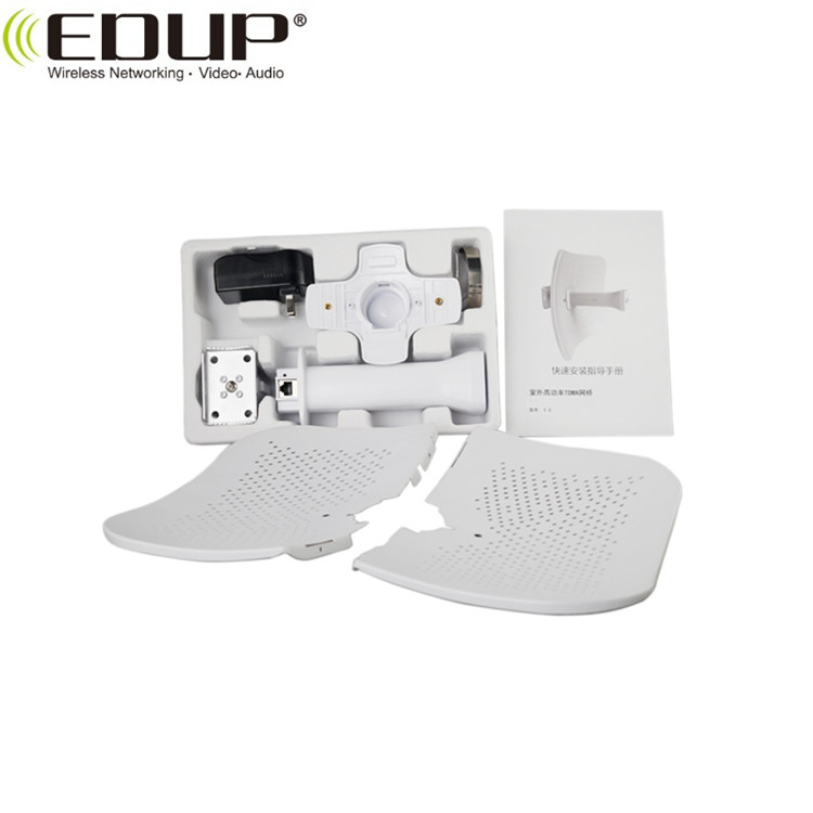 20KM Point to Point Long Range WiFi Distance Outdoor 300Mbps Wireless CPE/Bridge/Router