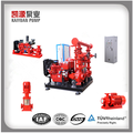 One Fire Pumpset 1 Diesel engine driven pump +1 Electric motor driven pump +1 Jockey pump