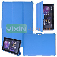 Color bright and lovely for Samsung Galaxy Tab 2 10.1P5100 flip cover case