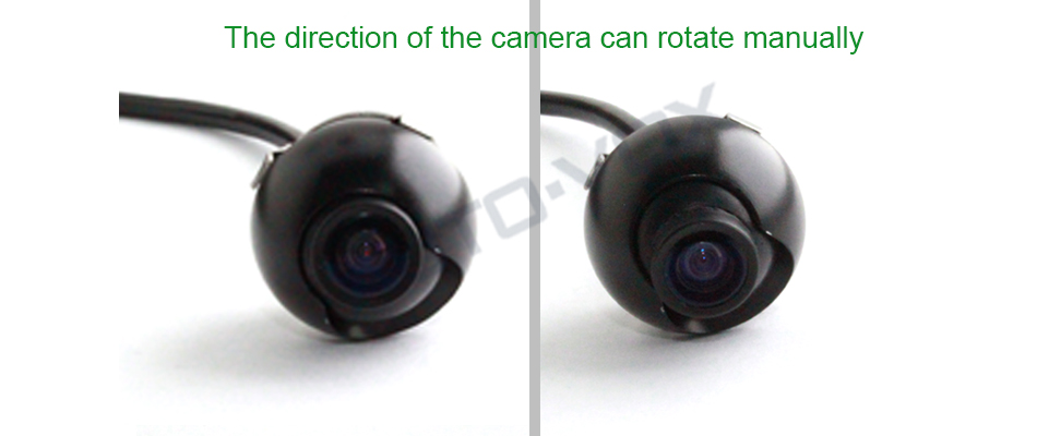 IP68 waterproof complete glass lens car reverse parking camera