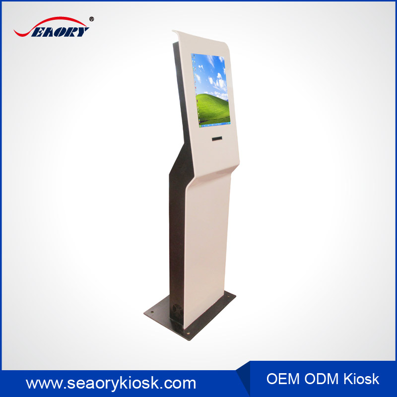 Free Standing Account Inquiry / Information Checking Kiosk with A4 Printer