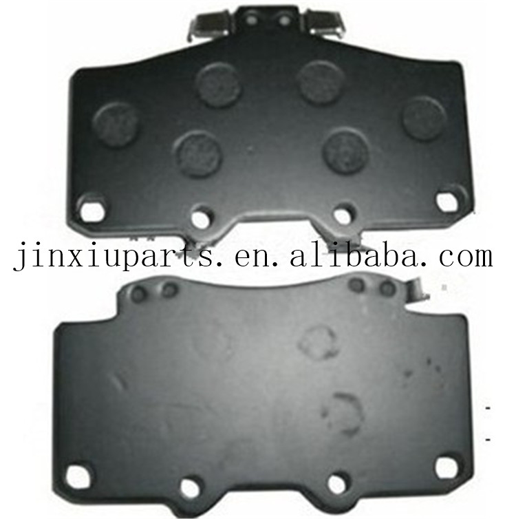 Good sailing China manufacturer brake pad brake pads Toyota Hilux KUN25 04465-0K330 with certificate