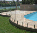 12mm Toughened Glass Pool Fence