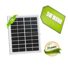 small size 5w mono solar module for size solar wireless charger