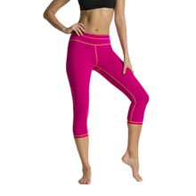 Wholesale Women Running Tight yoga Leggings Contrast Color Track yoga pants