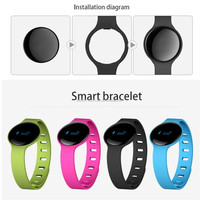 2015 Top sale bluetooth wristband Sleep Wristband Bluetooth 4.0 Wireless Activity Sleep Wristband