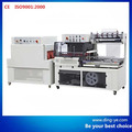 QL8060 New Automatic Vertical L bar Sealer & BSE6025A Shrink tunnel
