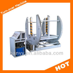 Veneer turn over machine & additional horizontal rotating seat