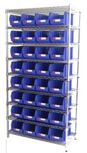 Wire Shelving Trolley, Wire Shelving Cart (WSR3614-003)