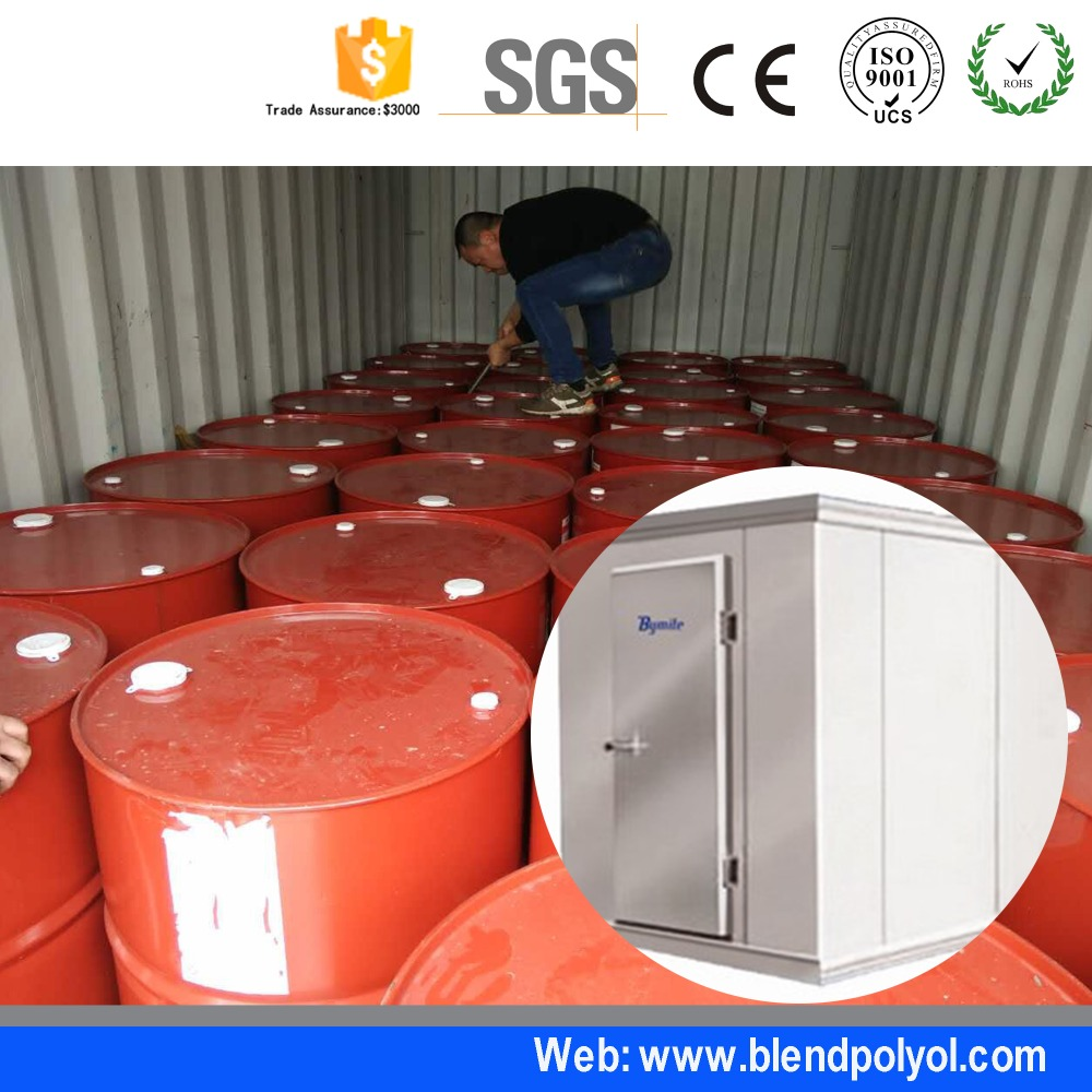 PU raw material for Polyurethane products food storage cold room mini cold room100mm Pu Customized Cold Room