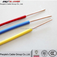 1.5mm2 2.5mm2 4mm2 6mm2 10mm2 PVC Insulated Electrical Wire for Housing and Building