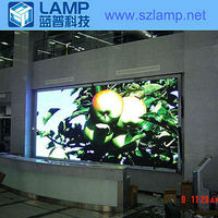 LAMP P6.25 indoor slim china xxx images led curtain display