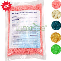 Low melting point rose flavor hair removal bead wax