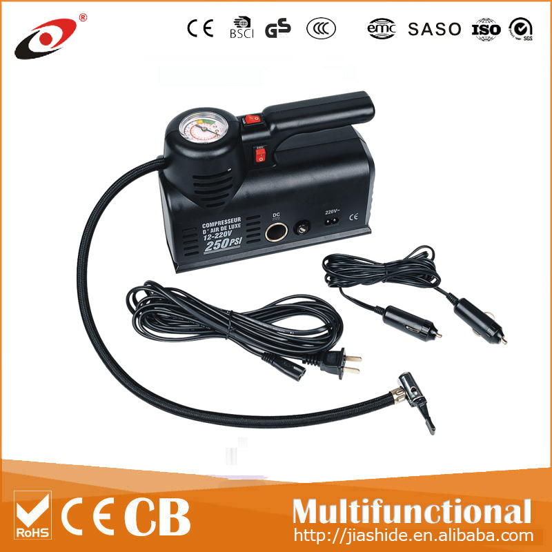 Portable air compressor DC 12V mini car air compressor auto air compressor electric micro pump tire inflator tire
