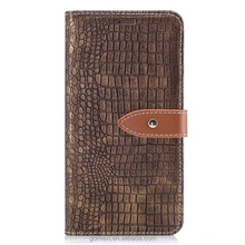 Retro Crocodile PU Wallet Stander Case For Samsung A3 2017, Folio Leather Case For Galaxy A5 2017