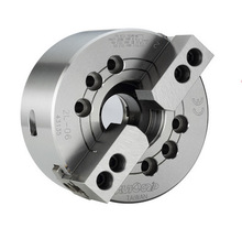 china 2 jaw type high speed hollow power chuck