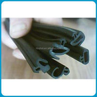 Aluminum window rubber weather stripping/protective edge trim
