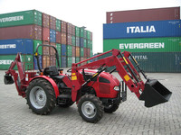 small tractor front end loader