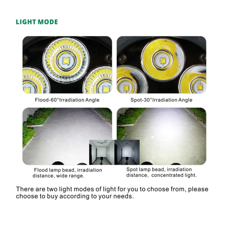 Emark PC Lens10w XML Chip 4 Inch Round LED Driving Light