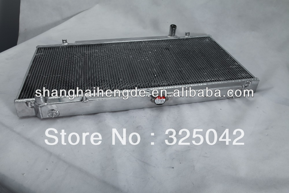 Special price radiator For NISSAN SKYLINE R33(AU) GTS-T RB25DET MANUAL performance radiator