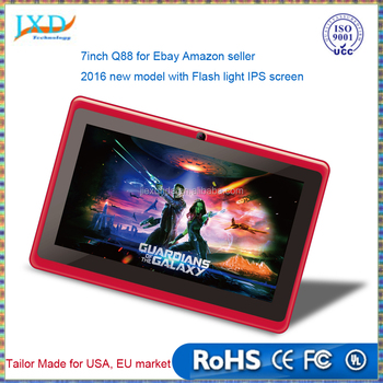 Q88 for Amazon Ebay seller 2016 new model with Flash, IPS screen