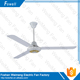 12V DC solar 3 Blades ceiling fan with LED light and remote control