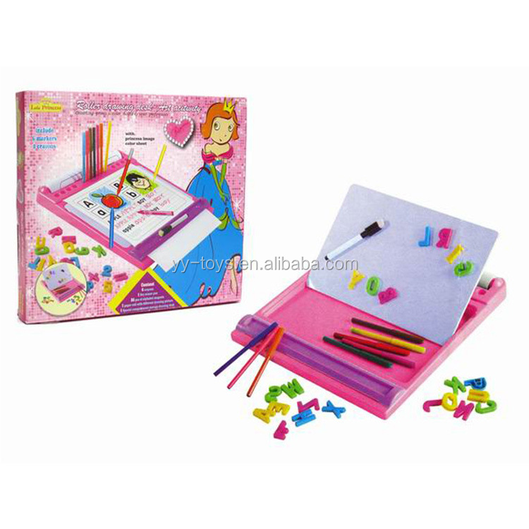 Wholesale intelligent creative educational toy for kids white board for painting/writing