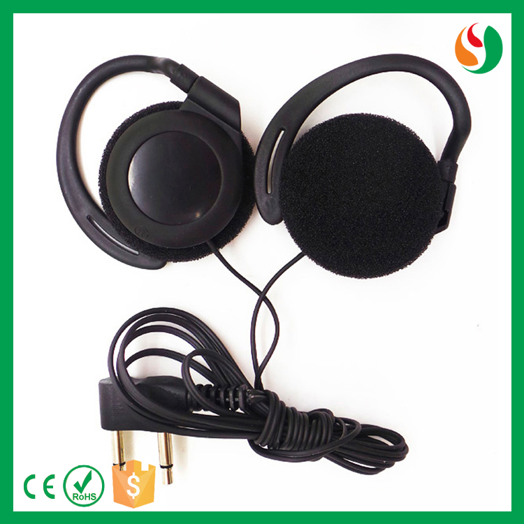 Shenzhen factory good quality ear hook airplane earphone