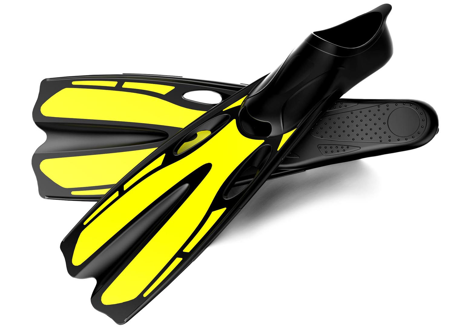 diving fins, swimming fins, diving set