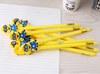 Cute cartoon character ball pens, Promotional ball pen with custom clip