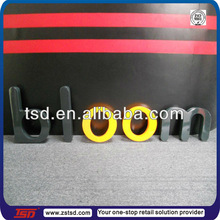 TSD-W600 Factory supply custom made spray painted MDF wooden carved decorative alphabet letters