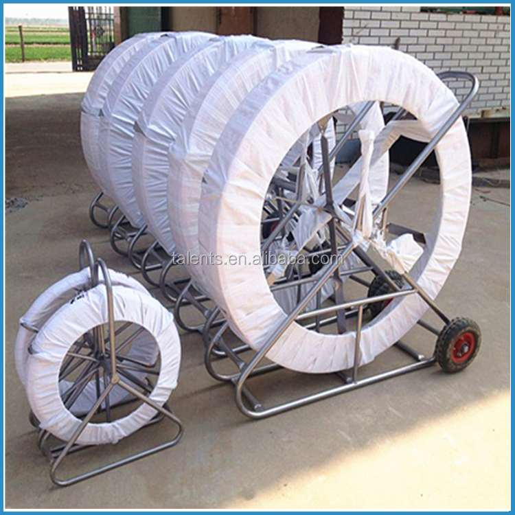 8mm fiberglass duct rodders,fiberglass electric cable duct rodders,conduiting cable push rods