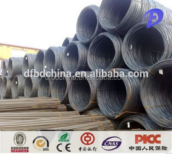 SAE 1008 low carbon steel wire rod for building construction materials
