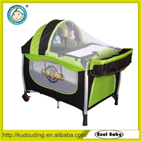Alibaba china supplier baby bed swinging crib