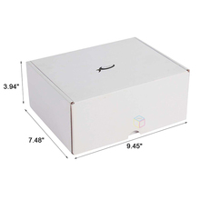 luxury matte paper corrugated acetate gift boxes