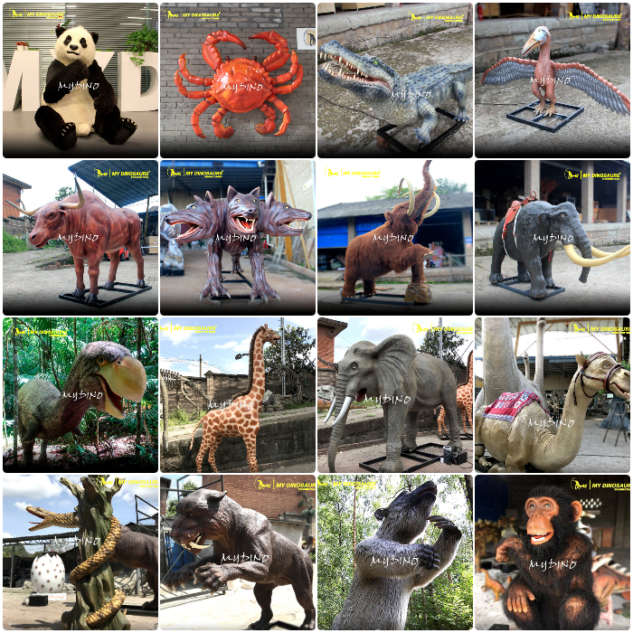 MY-Dino AA-042 Realistic Life Size Animatronic Snake Animals for Sale
