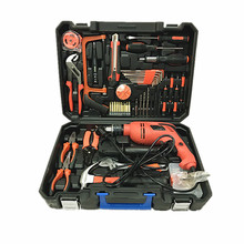 Hot sale 112PCS power tools,household tool set ,electric impact drill hand tool set