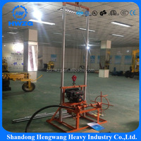 100m depth small water well drilling machine/ drill rig