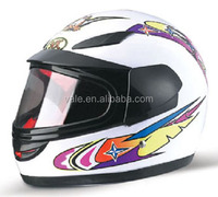 A quality motorcycle full face sun visor single glasses helmet