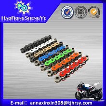 High quality Colored motorcycle roller chain 420