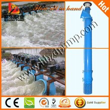 submersible river water draining pump