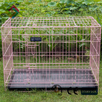 Cage pet sturdy and durable enclosed pet fence dog fence to assemble and remove small pet litter