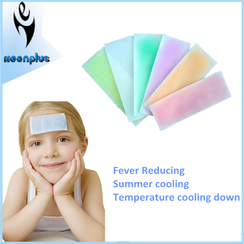 Gel sheets cool fever cold patch